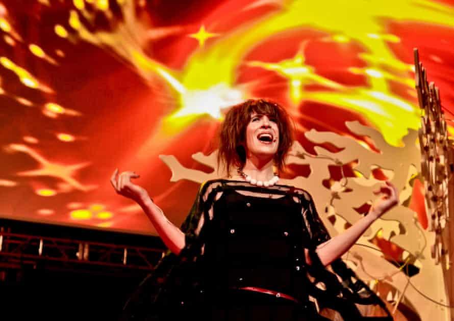 Live at London's Albert Hall in November 2010.