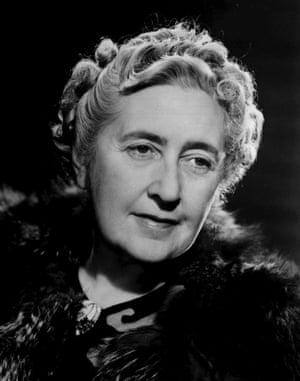 Agatha Christie in 1950.
