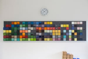 A choice of Le Creuser colours