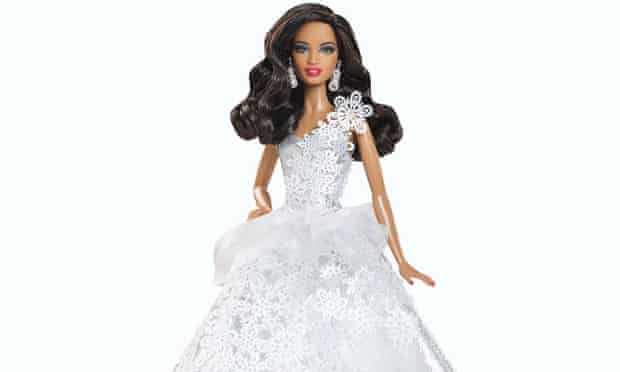 black bride barbie