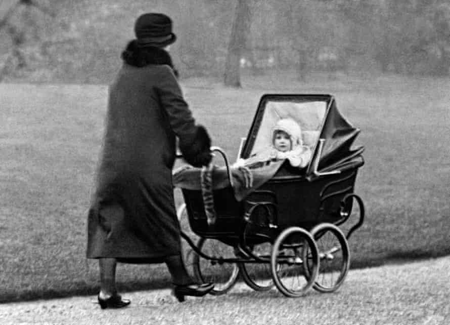 Princess Elizabeth with her nanny