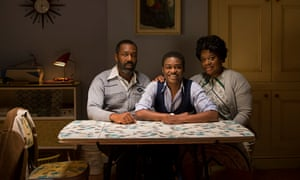 'Bittersweet pith': Lenny Henry, Kascion Franklin and Cecilia Noble in Danny and the Human Zoo.
