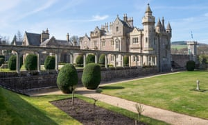 Abbotsford House, the Home of Sir Walter Scott