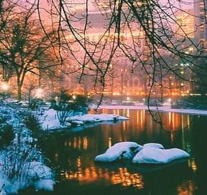 Juno storm, New York, 2015