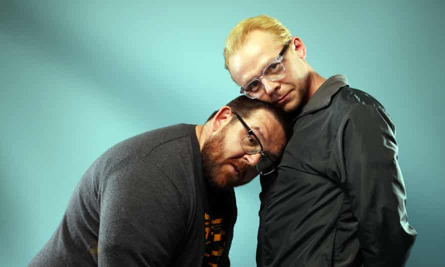 Best mates: 'He got it, whatever it was. I understood him completely and he understood me,' says Nick Frost about Simon Pegg