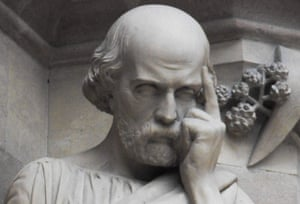 Statue of Hippocrates.