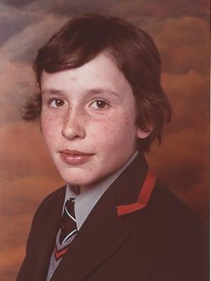 steve coogan aged 12