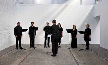 Opera singers perform Janice Kerbel's work.