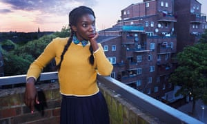 Michaela Coel as Tracey in Chewing Gum