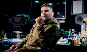 'Beyoncé's the queen. You don't ask the queen to be on your song but …' Naughty Boy (Shahid Khan) at his studio in Ealing, west London.