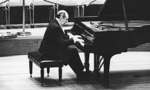World famous Russian pianist Vladimir Horowitz