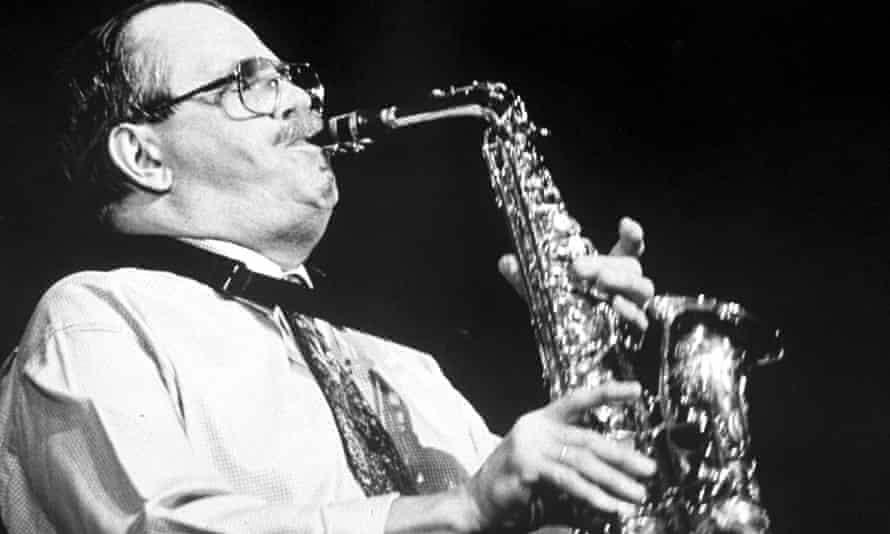 Phil Woods performing in 1990.