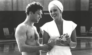 Robert De Niro and Cathy Moriarty in Raging Bull