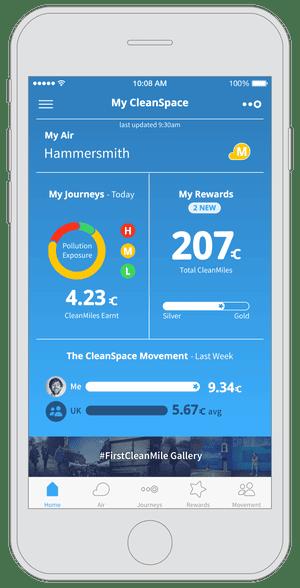 CleanSpace app