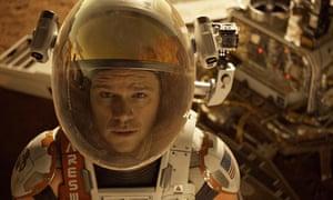 Matt Damon 'gives Tom Hanks a run for his money' in Ridley Scott's The Martian.