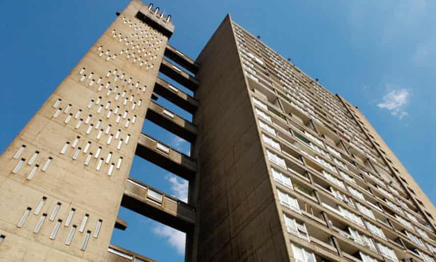 Balfron Tower, east London, which inspired JG Ballard. Photograph: Construction Photography/Alamy