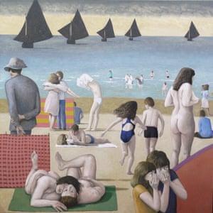 Allegory (2014-15) by David Inshaw.