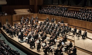 Philharmonia orchestra at the Royal Festival Hall 27 Sept