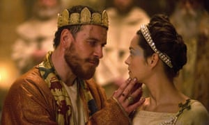 Macbeth and Lady Macbeth ... Michael Fassbender and Marion Cotillard.