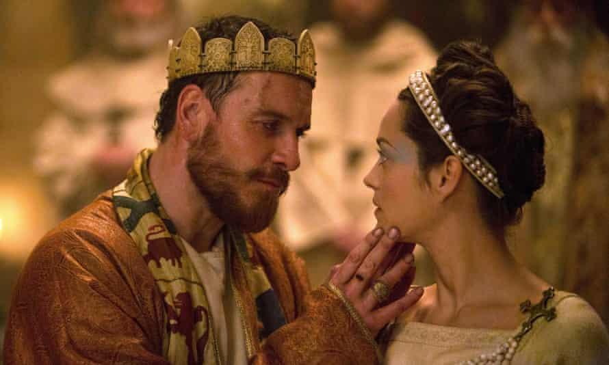 Macbeth and Lady Macbeth ... Michael Fassbender and Marion Cotillard.