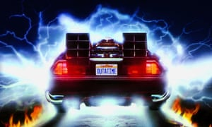 Let's do the timewarp again ... the DeLorean heads for 1955 in Back to the Future