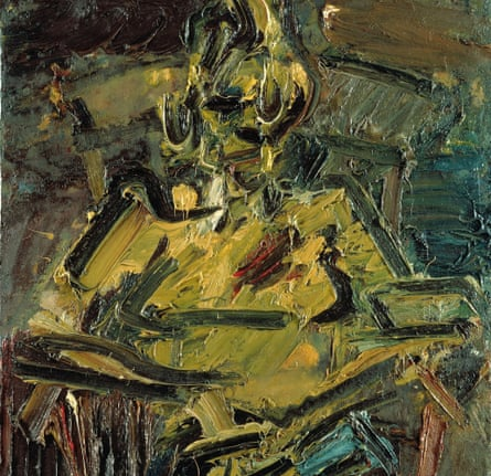 Portrait of Catherine Lampert, 1981-82, by Frank Auerbach.