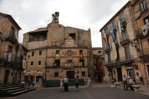 The medieval town of Sepúlveda