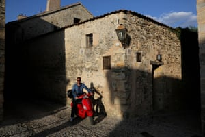 The writer in Pedraza