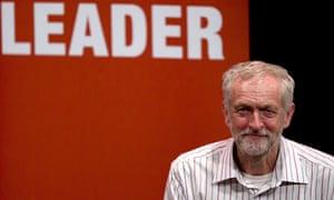 Jeremy Corbyn addresses a rally in Chelmsford last week