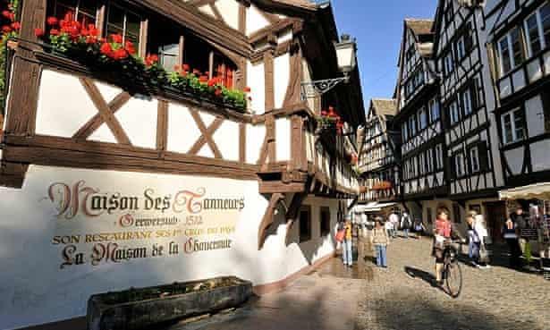 Maison des Manneurs, Strasbourg.