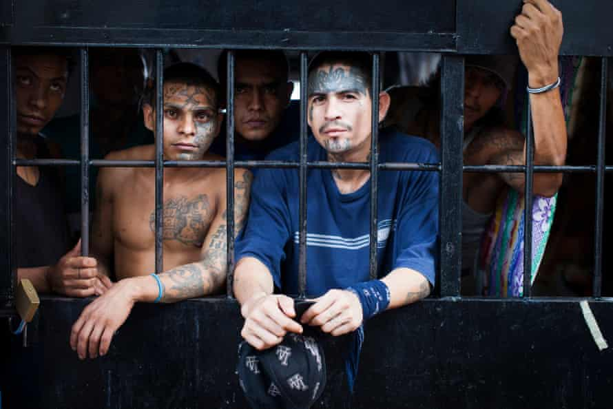 The Penal de Ciudad Barrios is just for members of the MS-13 gang, who run the prison themselves.