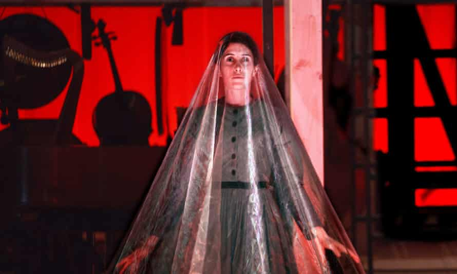Madeleine Worrall as Jane Eyre in an improvised production that won five-star reviews at Bristol last year.