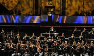 Among today's greatest... Bernard Haitink conducting the Chamber Orchestra of Europe at the 2015 Proms.