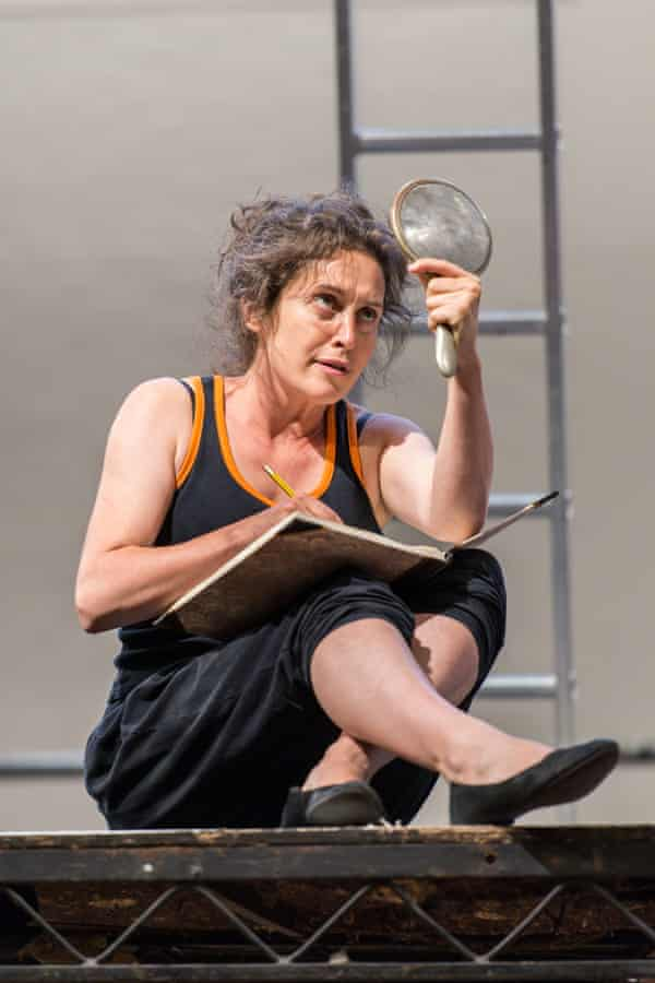 Madeleine Worrall in rehearsals: 'It's amazing how easy it is to become plain.'