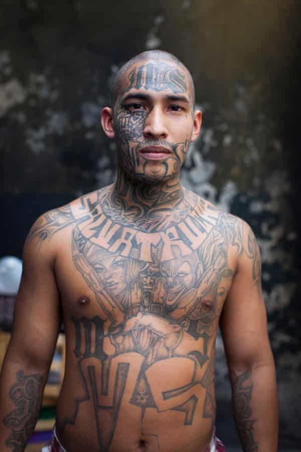 Adam Hinton El Salvador prison portraits