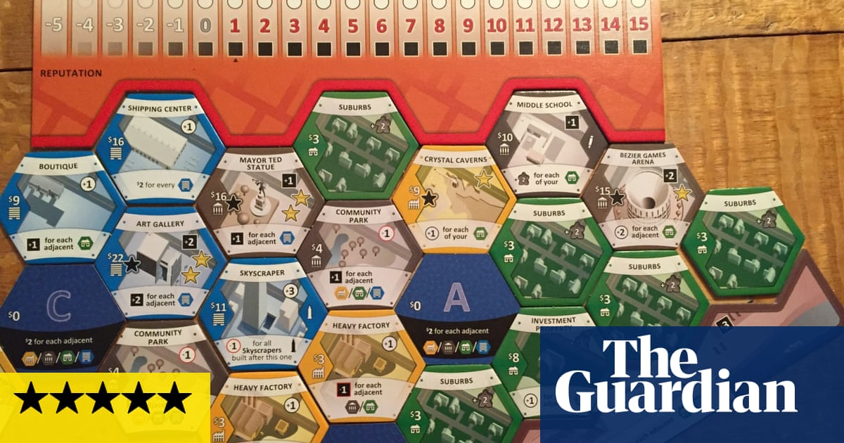 Suburbia review: Ballardian town planning on your dinner table | Games | The Guardian image