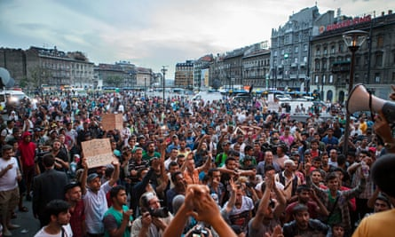 Refugees Budapest