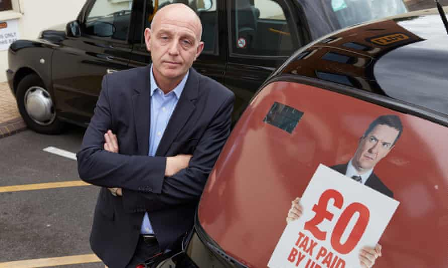 Steve Mcnamara of the London Taxi Drivers Association, who is leading the campaign against Uber.
