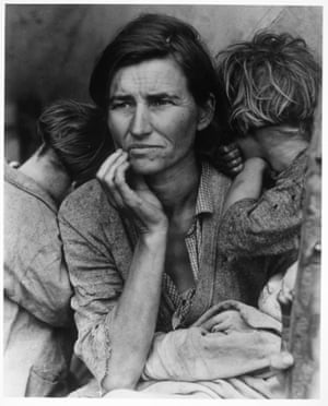 Migrant Mother, Nipomo, California, 1933, by Dorothea Lange