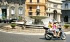 The Piazza Trieste e Trento in Naples