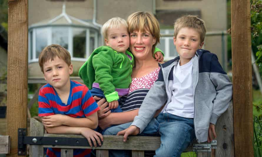 Anna Kay, her children Elliot, Marcus and Danny, say they would 'gladly' have someone to stay in their home.