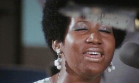 Aretha Franklin in Amazing Grace.