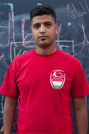 Haythem, 25, a semi-professional footballer from Damascus.