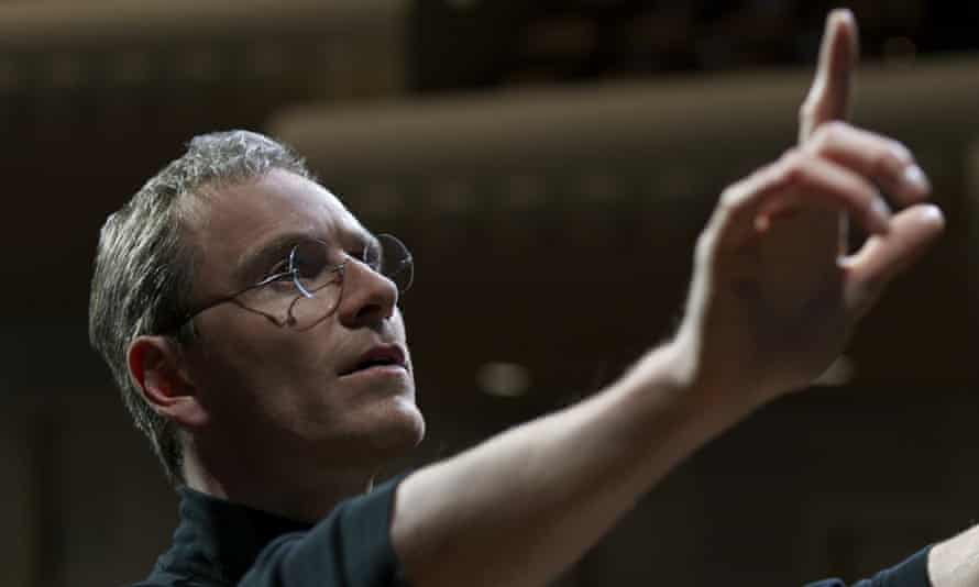 'Sorkin's script fails to shout and quip its way to anything approaching dramatic vibrancy' ... Michael Fassbender as Steve Jobs in Danny Boyle's drama.