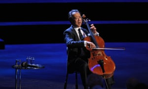 Yo-Yo Ma performing Bach s six Cello Suites at Prom 68.