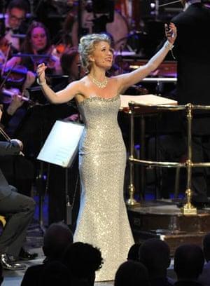 Scarlett Strallen with the John Wilson Orchestra