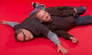 Vic Reeves, left, and Bob Mortimer celebrate 25 years of comical togetherness.