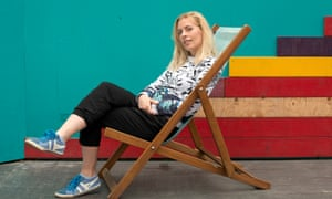 Sara Pascoe is in charge of Christmas fun at BAC