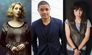 Katherine Ryan, Trevor Noah and Bridget Christie