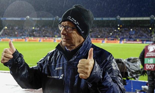 Евро-2016, Сборная Исландии по футболу, Ларс Лагербек